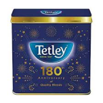 tetley 180th anniversary of quality blends product