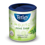 tetley mojito mint lime herbal tea product